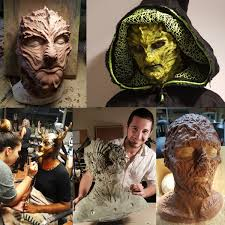 fx artist instructor dallas harvey will teach students professional sculpting and finishing techniques to create a custom designed character prosthetic