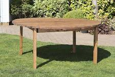 round wood outdoor table. Unique Wood HGG 8 Seater Round Wooden Outdoor Table  Patio Garden Furniture  Wood To