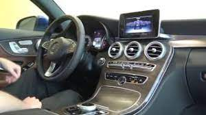 Get both manufacturer and user submitted pics. 2017 Mercedes Benz C 300 C Class Coupe Interior Tech Features Youtube