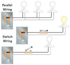 types of electrical wiring parallel and switch wiring diagrams