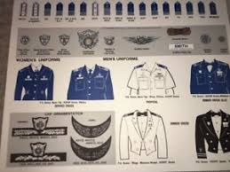 United Inches Framing Chart Details About United States Uscg Us Coast Guard Auxiliary Uniform Insignia Chart Poster 1985