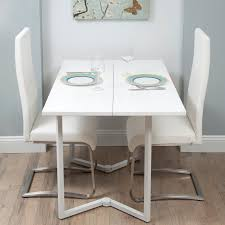 Folding Dining Table Sets Uk Starrkingschool - Modern white dining room sets
