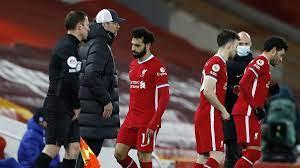 Liverpool-Star Salah nach Auswechslung wütend - Berater-Tweet als Hinweis  auf Wechsel? - Eurosport