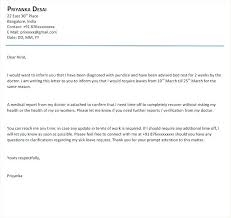 Brilliant Ideas Of Leave Letter Format For Office Due To Fever