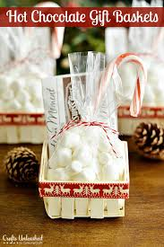 hot chocolate gift baskets handmade gift challenge