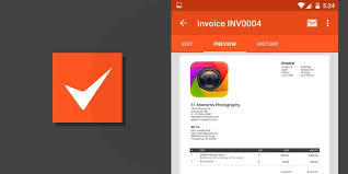 Receipt Maker App 5 Best Invoicing Apps For Android Simple Minimal Powerful
