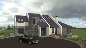 Irish House Plans ie house type Mod Exterior   YouTube