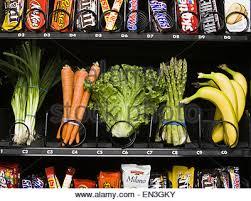 Fruit Vending Machine Unique Fruit And Vegetables In A Vending Machine Stock Photo 48 Alamy