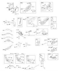 Briggs and stratton 125k05 0642 e1 parts diagram for air cleaner rh jackssmallengines