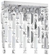 Настенный <b>светильник IDEAL LUX Elisir</b> AP3 Cromo, 120 Вт ...