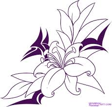 Small Picture How to Draw a Flower Tattoo Step by Step Tattoos Pop Culture