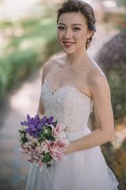 pangkor laut resort beach wedding makeup and hairdo by agnes yip
