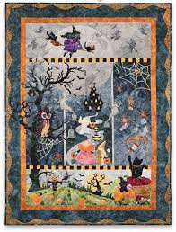 once in a boo moon laser cut quilt block of the month