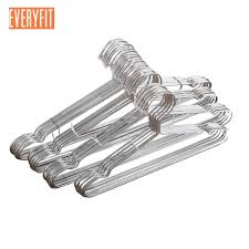 Hanger Wire Gauge Chart 10pcs Stainless Steel Strong Metal Wire Hangers Clothes