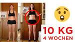 in 4 wochen 10 kilo abnehmen
