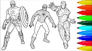 Facebook is showing information to help you better understand the purpose of a page. Beautiful Spiderman And Captain America Coloring Pages Anyoneforanyateam