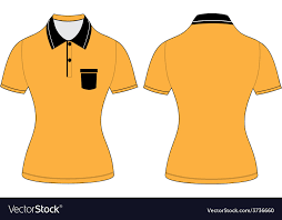 shirt design templates polo woman shirt design templates royalty free vector image