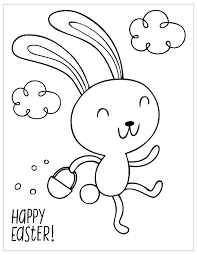 Easter Coloring Page Free Printable Coloring Pages Bunny Trail Free