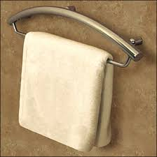 towel bar with towel. Invisia Towel Bar And Grab Combo With E