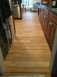 after laminate floor install