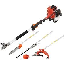 professional multifunctional 40 5 engine 4 in 1 petrol hedge trimmer chainsaw strimmer brush cutter