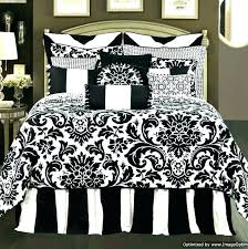 black and white comforter set queen red sets black and white bedroom comforter