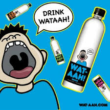 WATAAH: DRINK WATAAH!!!!  The water and hydration choice of Running4theMasses and Chad Cerveny