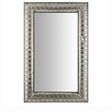 Silver Mirrors For Bedroom Mirrors The Range