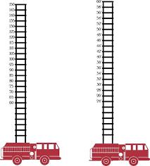 Fire Truck Fireman Firefighter Metric Or By Wallvinyldesigns