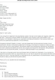 cover letter for rn job oncology nurse cover letter nursing cover letter samples awesome
