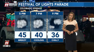The Parade Of Lights Colorado Springs Festival Of Lights Parade Forecast And Road Closures In