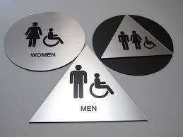 california ada bathroom requirements. Brushed Alum Look California Restroom Signs Ada Bathroom Requirements