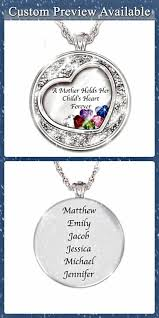mother s necklace with names how sweet is this a mother holds her child s heart