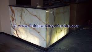 economic stylish backlit onyx kitchen countertops