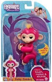 Fingerlings Baby Monkey Bella Figure WowWee - ToyWiz