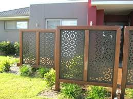 free standing garden screens wonderful best metal fencing panels fence decorative