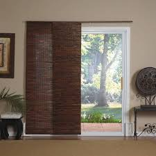 image of bamboo blinds sliding glass doors roll porch shade patio window blind shades sliding glass