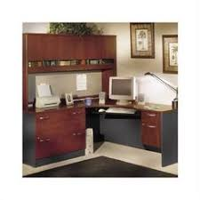 t shaped office desk. exellent office bbf bush business lshaped desk set with hutch in hansen cherry finish throughout t shaped office r