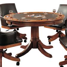 Hillsdale Dining Table Round Flip Top Gaming Dining Table By Hillsdale Wolf And