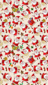 Wallpaper Christmas Emoji Background