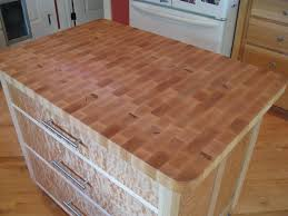 picture of butcher block counter top