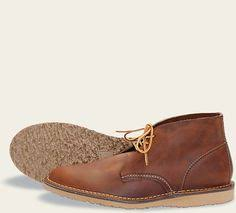 Red Wing <b>Men's Heritage</b> Work Chukka Boot, Copper Rough And ...