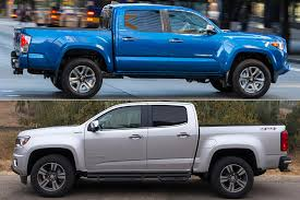 2019 Toyota Tacoma vs. 2019 Chevrolet Colorado: Which Is Better ...