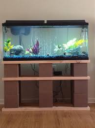 diy how to make a wooden fish tank stand plans free