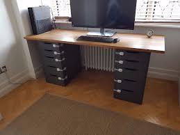 narrow office desks. Full Size Of Desk \u0026 Workstation, Computer Furniture For Home Corner Desks Narrow Office