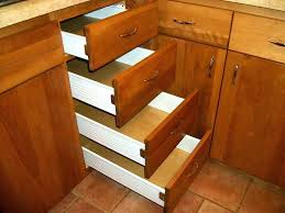 replace cabinet drawer slides kitchen