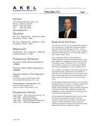 resume sample of civil engineer  student resume template