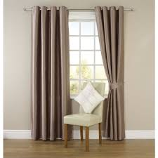 Silk Curtains For Living Room Wilko Faux Silk Eyelet Curtains Mink 167cm X 228cm Curtains