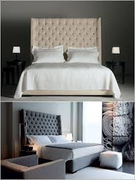 Best 25+ Tall headboard ideas on Pinterest | Quilted headboard, Chic master  bedroom and Bed pillow arrangement