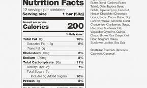 skratch labs anytime energy bar almond er vs peanut er nutrition label